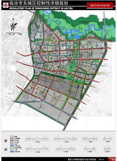 大庆东城区规划图_图