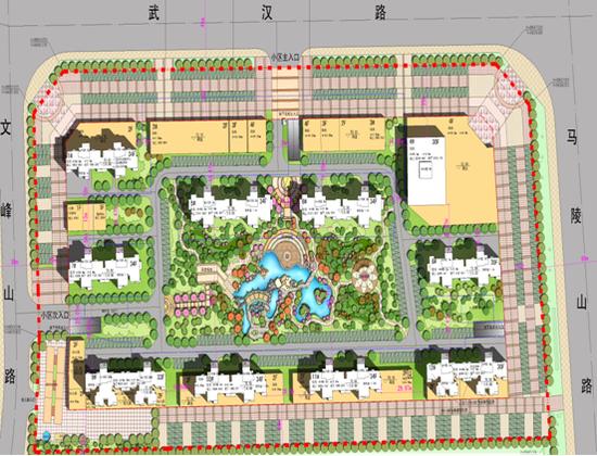 """微博 二手房  """"围合式""""住宅小区的主要特点是各栋住宅沿用地周边布置图片"""