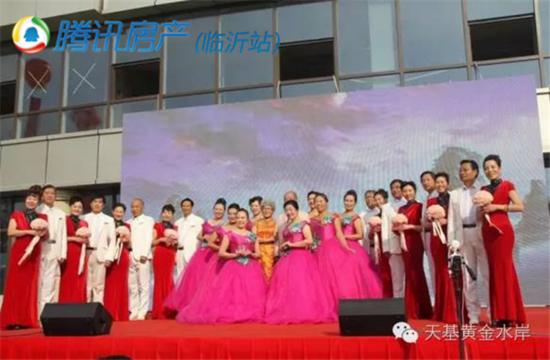 11月26日临沂市第五届网络春晚海选在天基·黄金水岸如期举行