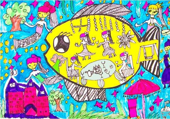 天马行空的世界——鱼肚子里的故事图片