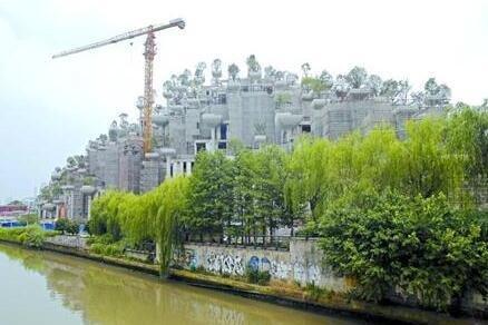 """提升商业""""大杀器"""" 苏州河畔另类建筑群好似山丘"""
