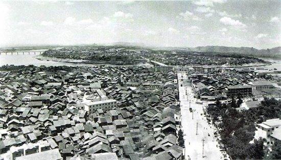 柳州全貌老照片-不断刷新天际线的城市地标,欲与天公试比高图片