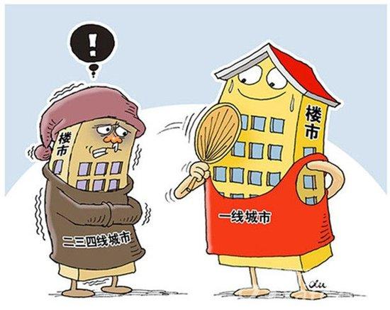 """房地产市场进入""""分化"""" 楼市调控牵一发动全身"""