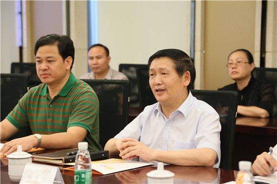 柳州市长肖文荪发言