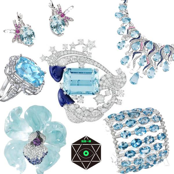 海蓝宝珠宝。