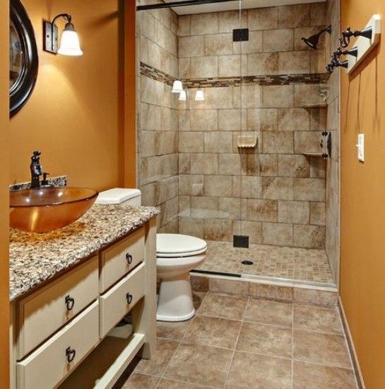 享受美好浴事 小卫生间装修效果图