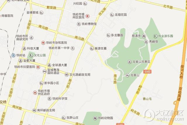 锦州六厂三路地图