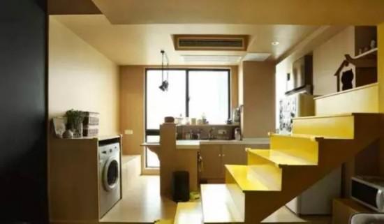35㎡小户型单身公寓的超强收纳空间