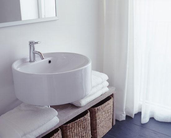 拒绝凌乱 妙用收纳打造清爽卫浴空间
