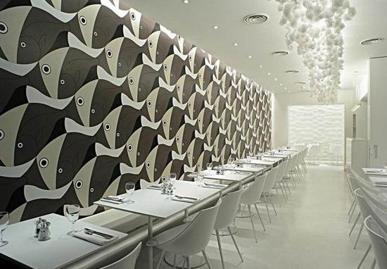 个性风格餐厅设计 满足你的美食欲望