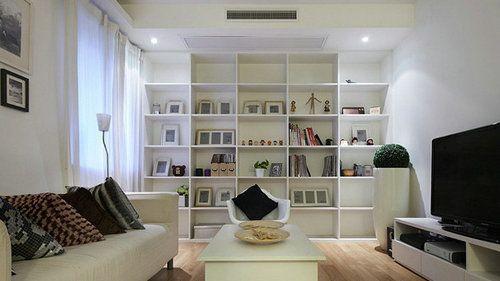 82平方两室两厅装修客厅 高清图片