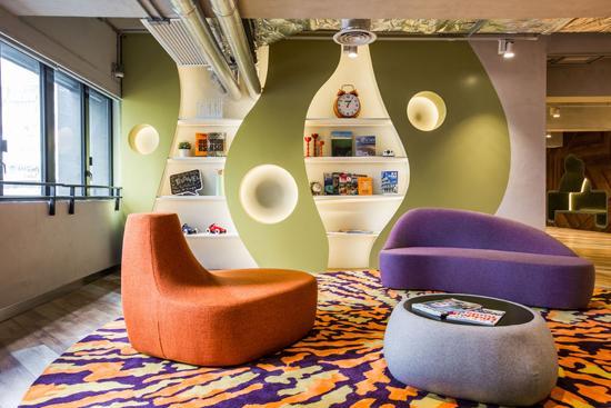 兼具传统与现代 创意办公空间设计图片