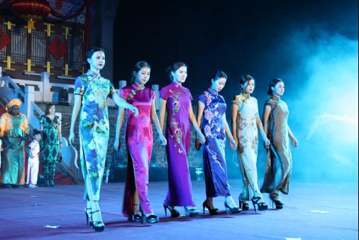 2017中国(抚顺·新宾)旗袍国际交流节在新宾举办