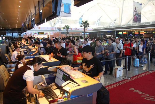 沈阳桃仙国际机场年旅客吞吐量突破1400万人次