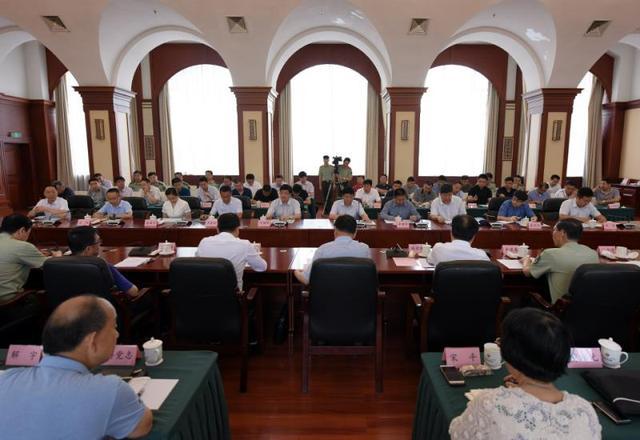 听取了省政府,省文物局,沈阳,葫芦岛市政府及有关部门的消防工作汇报