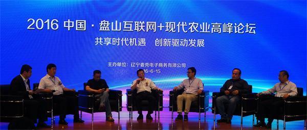 中国盘山互联网+现代农业高峰论坛启幕