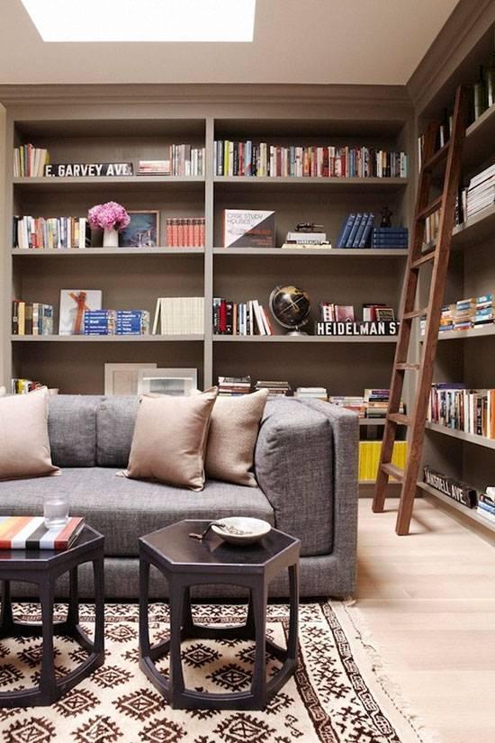 书香满屋 家里一定要有一间书房!