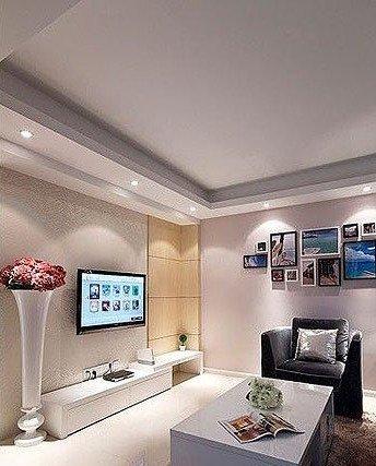 欧式客厅电视背景墙