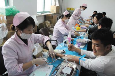 3000多大工学子献血近80万毫升 大连固定献血者2.9万