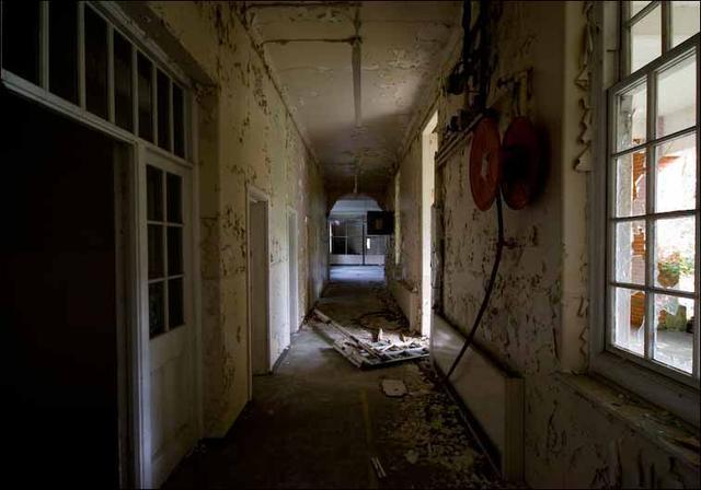 英格兰severalls精神病院.国外室内设计名片模板图片