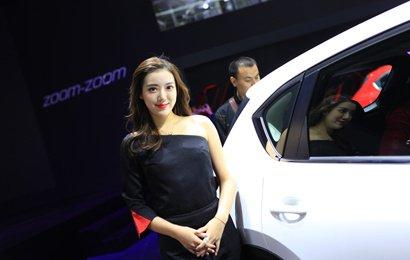 黑色玫瑰妩媚2017沈阳十月国际车展图片