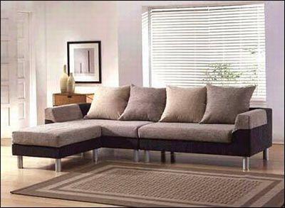 最流行的布艺转角沙发 绝顶漂亮图片