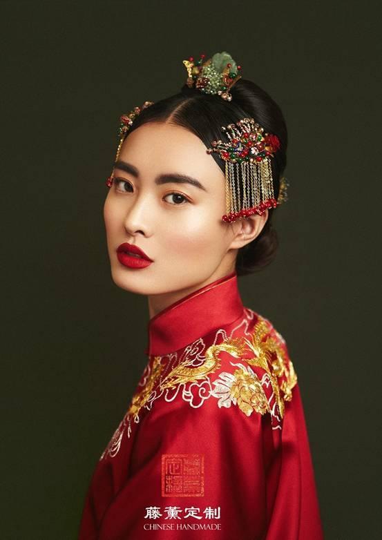 藤薰定制中式新娘妆惊艳上线 致敬传统之美图片