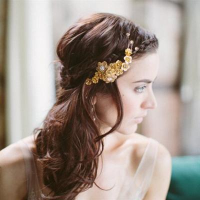 唯美浪漫新娘发型 流行新娘发型推荐
