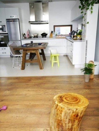 中式简约装修厨房:v厨房厅看树桩樟木,从桂林淘来的实心年级餐厅.首一小学两古诗风格图片