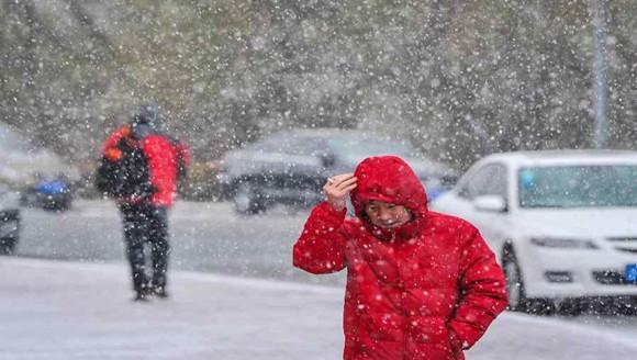 降雪来袭!辽宁气温再回暖!
