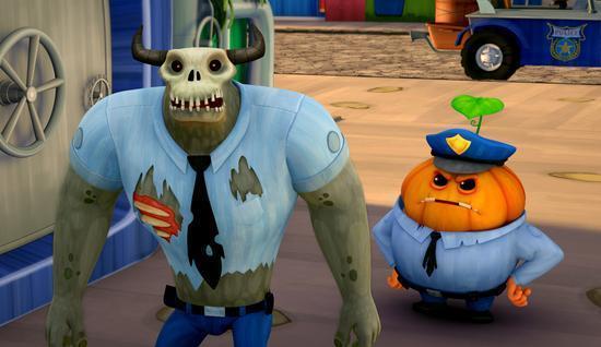 史上最多逗比集合 动画电影《怪物岛》放大招