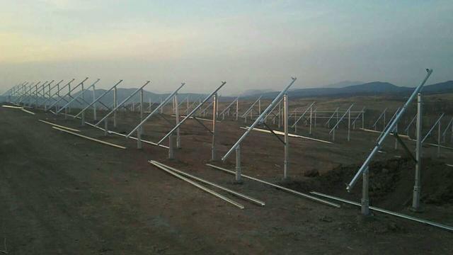 双塔区光伏发电项目即将竣工 精准脱贫全力推进