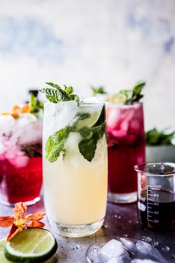 红茶毛吉托鸡尾酒 图片来源自pinterest.com
