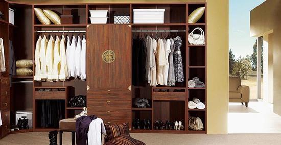 现代中式衣柜 保养衣柜小妙招看这里!图片