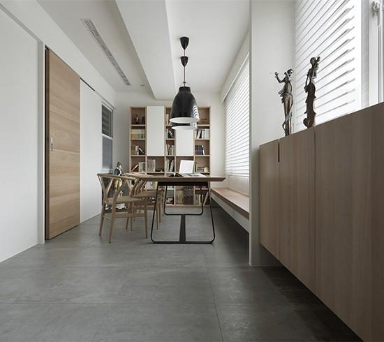 公寓房原木设计 回归简单纯粹的生活