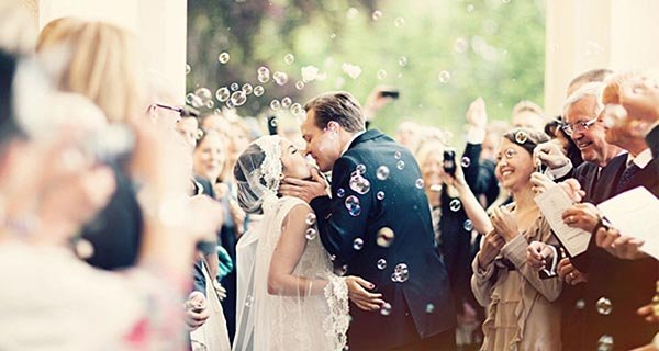 13种完美退场方式 为婚礼仪式画上圆满的句号