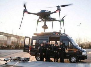大连一派出所无人机上岗 可在空中执勤