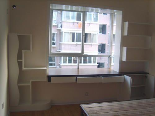 婚房飘窗装修效果图点评:组合飘窗设计