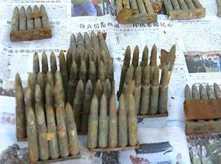 东北一村庄发现千发子弹 或为日伪时期遗留
