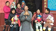 """和尚收养20多名小孩被叫爸爸 出家前别墅改名""""护生小居"""""""