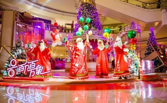 沈阳万象城圣诞亮灯仪式璀璨启幕,给城市百分百惊喜!