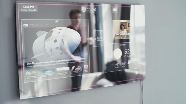比魔镜更强大 这面智能镜子拥有AI功能