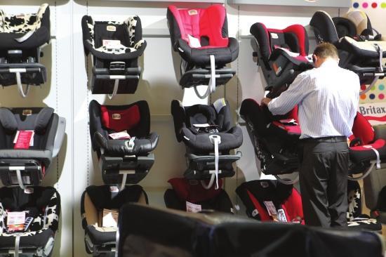 中国儿童安全座椅缺乏行业标准