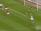 C罗曼联生涯十大劲射 40米外轰出电梯球费迪南德膜拜