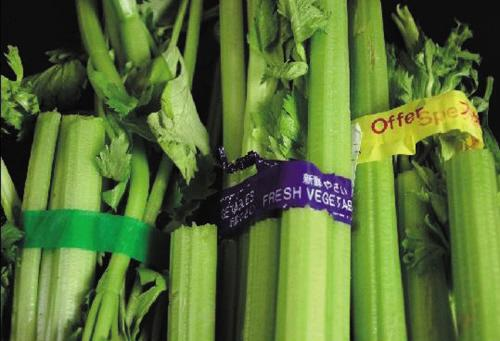 网传胶带捆绑蔬菜甲醛超标10倍 说法:不可信