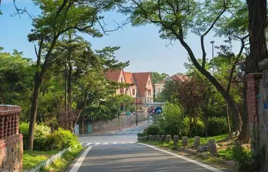 中国最美海湾的城市 城区内汇集各国建筑