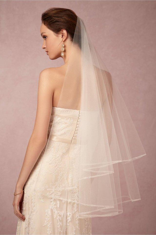 新娘头纱也大有讲究