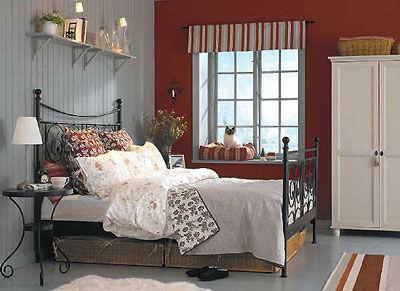 90平米小户型浪漫卧室装修效果图