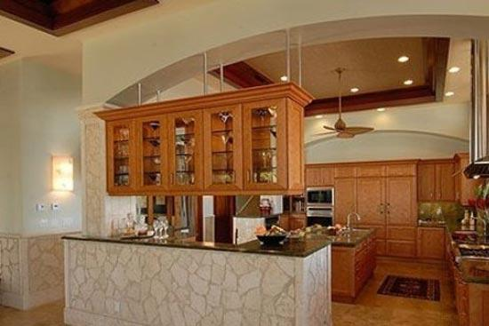烹饪空间巧隔断 10款开放式厨房隔断设计
