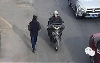 本溪男子驾驶无牌照摩托车撞倒老人 逃离现场